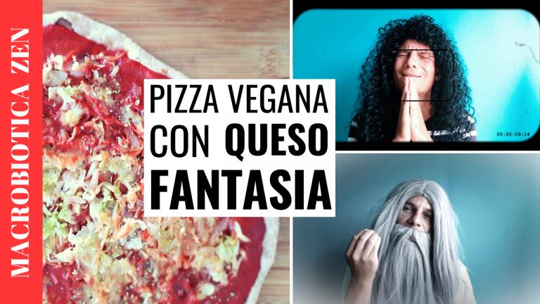 Pizza integral vegana macrobiotica de espelta