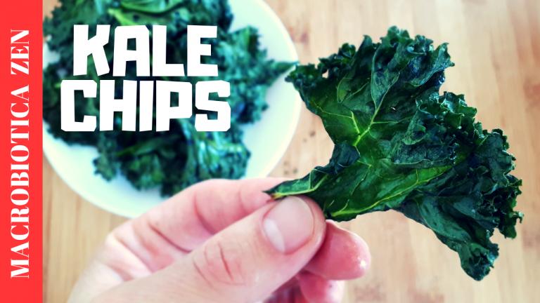 chips de kale vegano macrobiotica zen