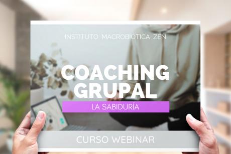 Coaching Curso Grupal macrobiotica zen
